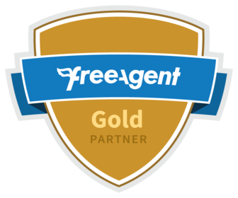 We're a FreeAgent Bronze Partner.