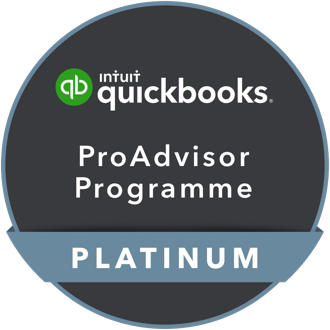 We're a Platinum Partner on Quickbooks' ProAdvisor Programme.